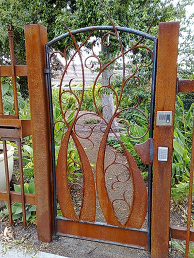 Wooden gate and whimsical designs joy studio design for Garden gate designs wood